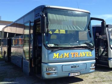 Пътнически транспорт и организиране на екскурзии | M&M Travel (М и М Травел)